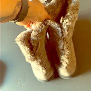 Bear paw winter boots